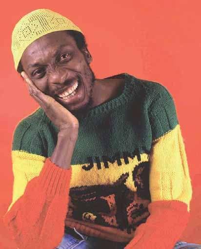 The great Jimmy Cliff