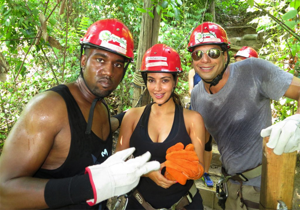 Kanye and Kim K. doing AT trail maintenance?