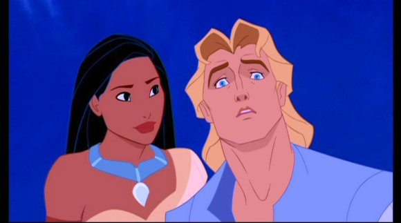 John Smith: We're really going to hike all the way up that mountain?  Pocahontas: Duh. And then we're going to jump 1,000 feet into a lake off the top of a waterfall.