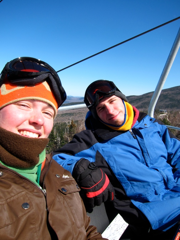 March 2012 ski trip to Sugarloaf. This was only a matter of days before I decided to hike the AT.