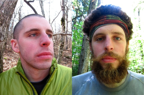 Miles To Go. From suave stubble to backwoods beard.
