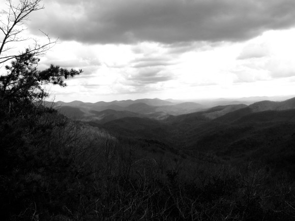 The mountains of Georgia.